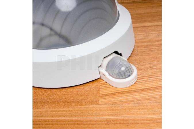 BOSTON wall lantern white 1x60W Massive 1300/01/31