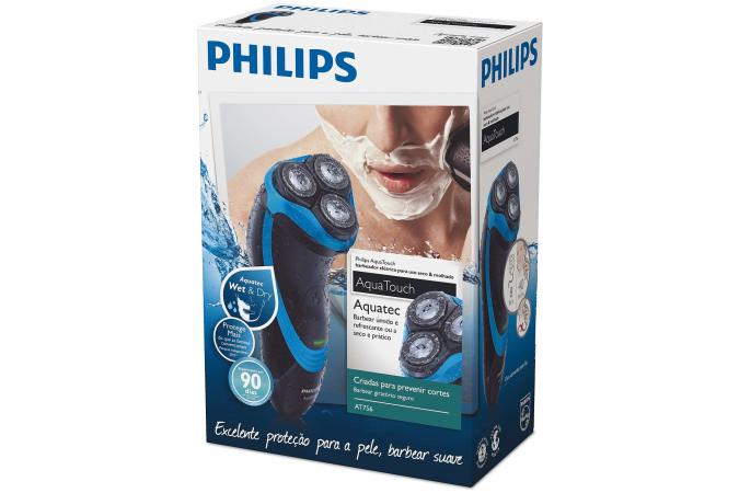 Бритва AquaTouch Philips AT756