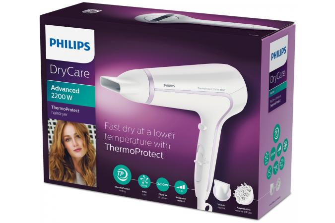 Фен DryCare Advanced Philips BHD170
