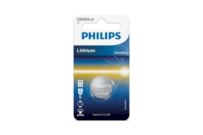 Батарея Philips CR2016