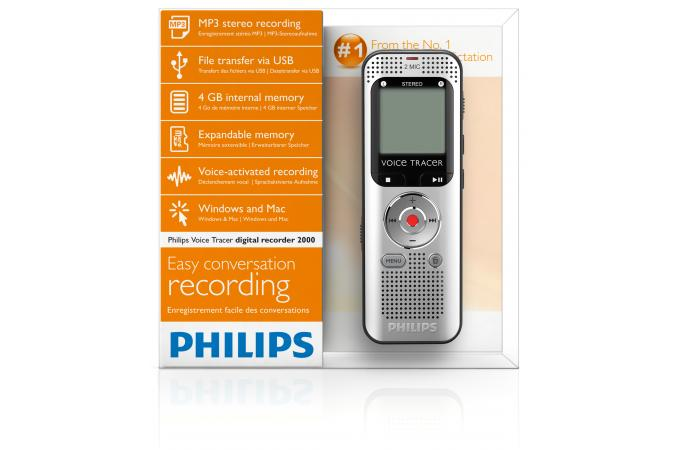 Диктофон Philips DVT2000