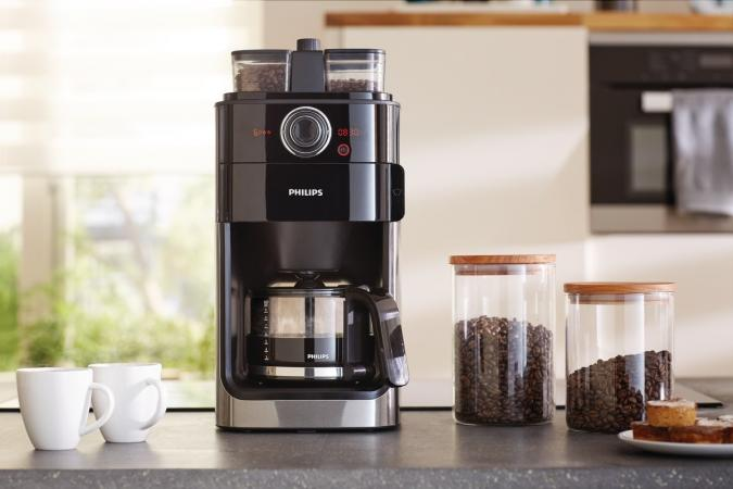 Кофемашина Philips Grind & Brew HD7769