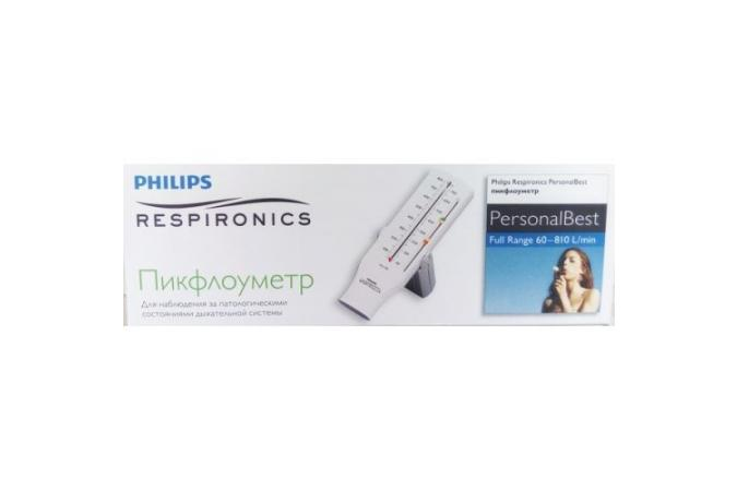 Пикфлоуметр Philips Respironics Personal Best полная шкала 1023833