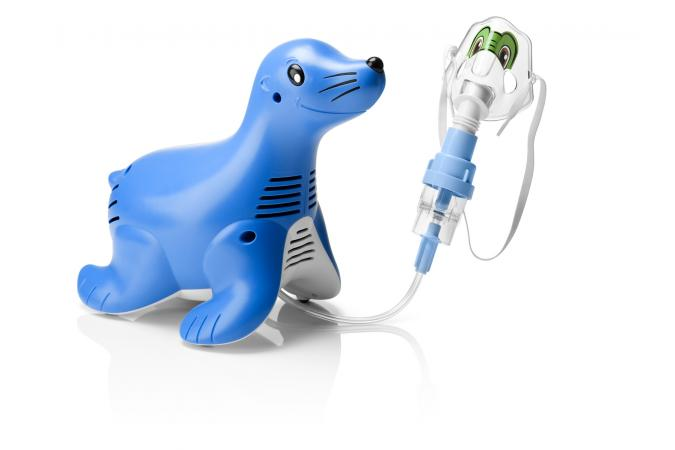 Компрессорный ингалятор Philips Respironics Sami the Seal HH1335