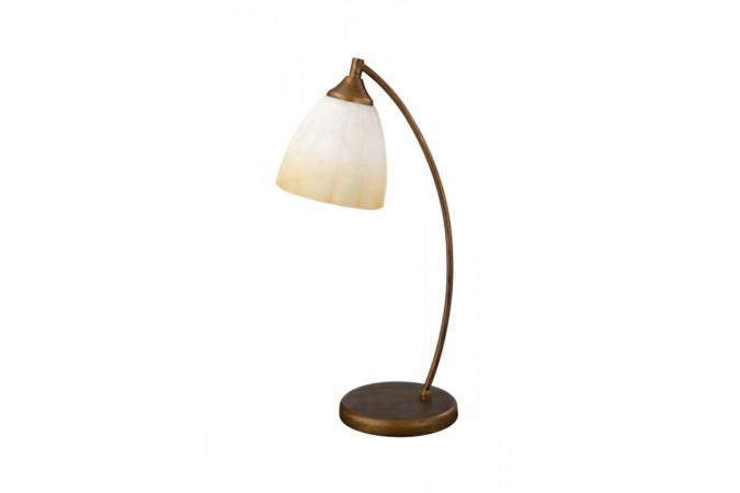 Светильник настольный CAMILLO table lamp BrownBrush 1x60W 230 Massive 38009/43/10