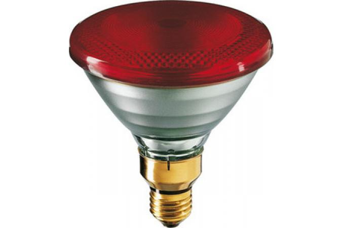 Лампа накаливания Philips E27 PAR38 IR 230V Red 1CT/12 175 вт