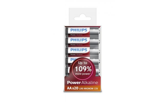 Батарея Philips Power Alkaline LR6P20T