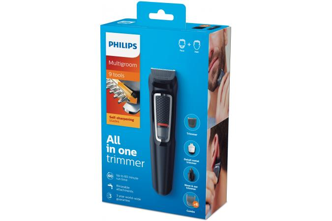 Триммер Philips MG3740 9 в 1 для лица и волос