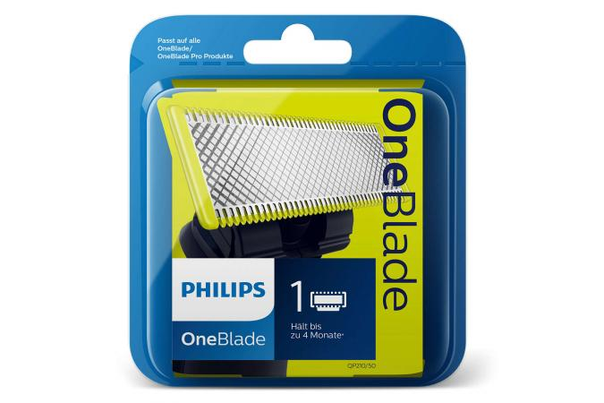 1 cменное лезвие для Philips OneBlade и OneBlade Pro QP210