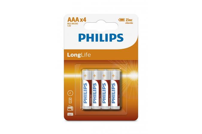 Батарея Philips LongLife R03L4B