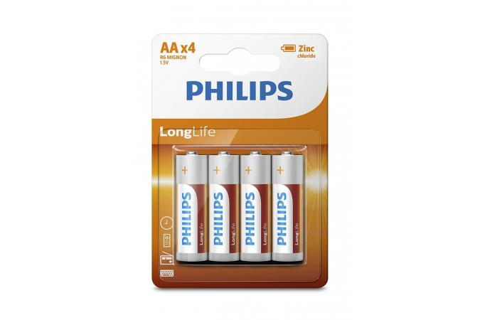 Батарея Philips LongLife R6L4B