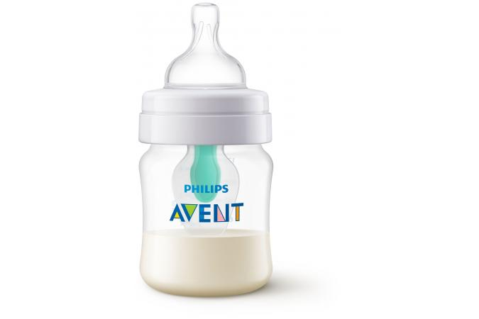 Набор бутылочек Philips Avent SCD809/01: Anti-colic c клапаном AirFree, 125 мл, и  Anti-colic, 260 мл