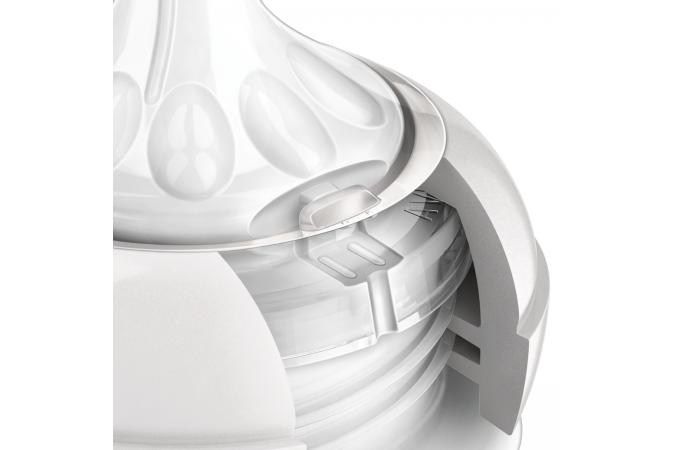 Соска 1 мес + Philips Avent Natural SCF652/27