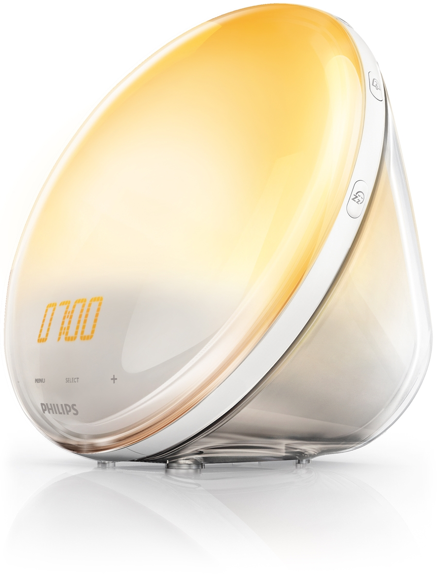 цена на Световой будильник Philips Wake-up Light HF3520