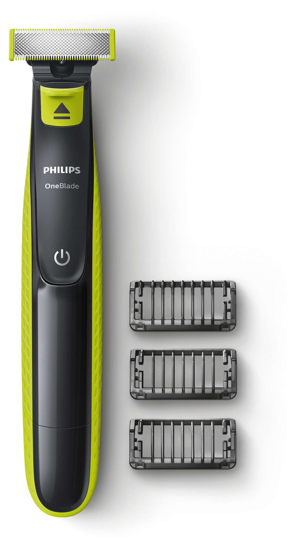 Philips OneBlade с 3 насадками-гребнями QP2520 QP2520/20 фото